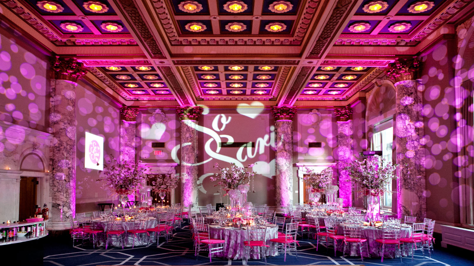 Tags bar and bat mitzvah event decor themes venues - Manhattan Wedding Venues Great Room W Union Square