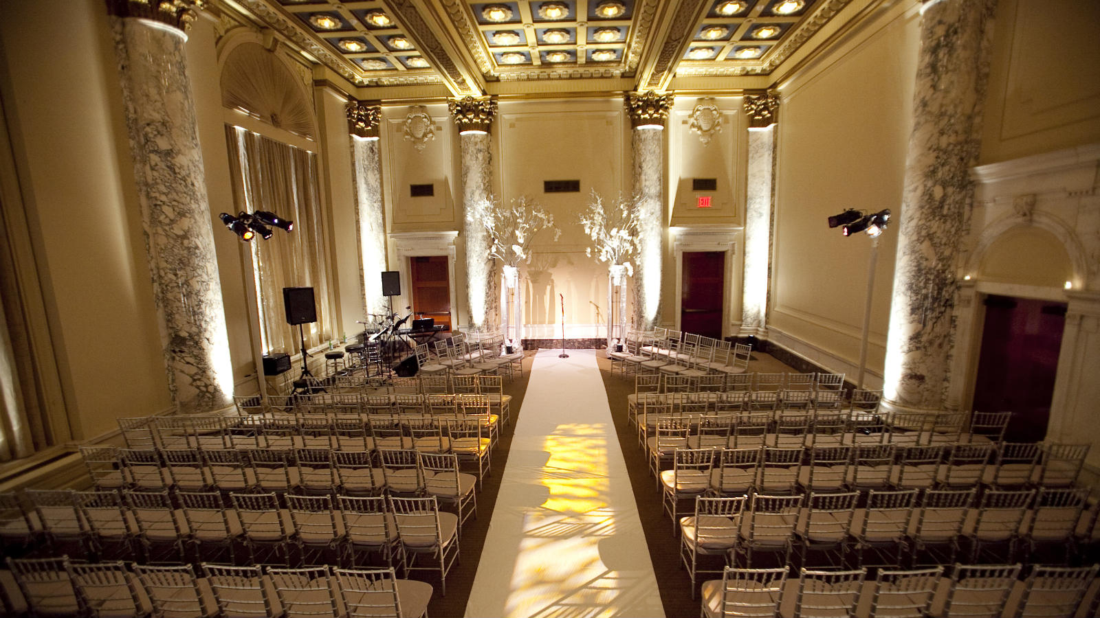 Manhattan Wedding Venues - Ceremony detail