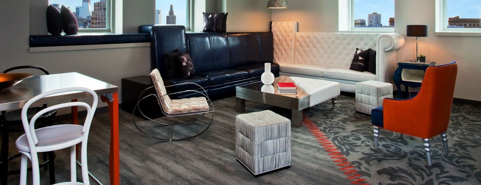 E-Wow Suite Living Area | W New York - Union Square