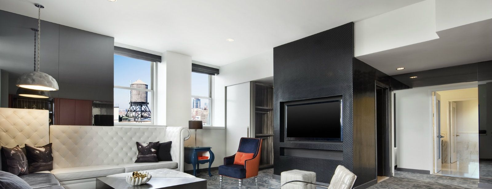 E-Wow Suite Living Room | W New York - Union Square