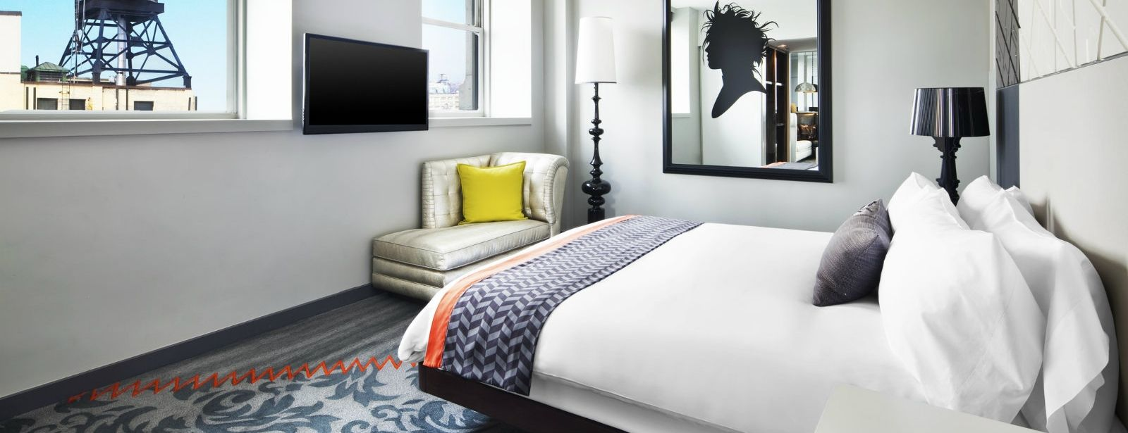 E-Wow Suite Bedroom View | W New York - Union Square